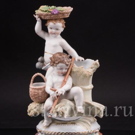 Фарфоровая статуэтка Аллегория лета, Muller & Co, Германия, кон. 19 - нач. 20 вв.